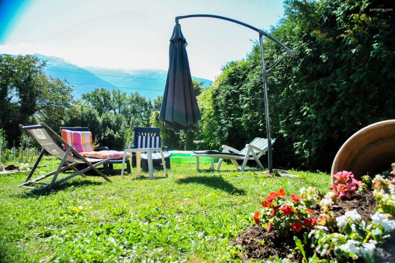 camping chez l habitant frontenex rh ne alpes gamping. Black Bedroom Furniture Sets. Home Design Ideas