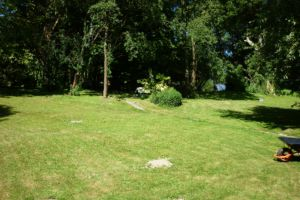 Une autre partie du jardin côté seine.