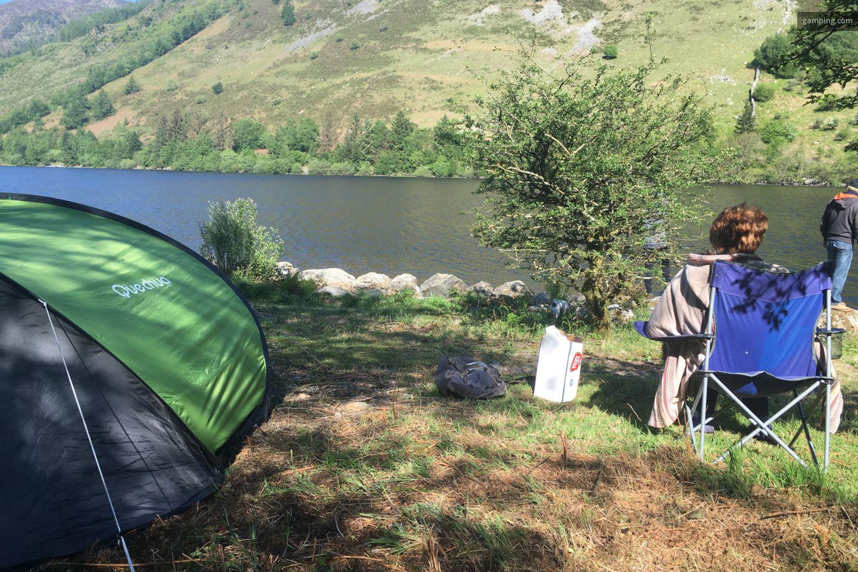 Camping chez l habitant llyn crafnant wales gamping - Camping chez l habitant ...