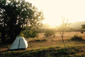 Camping in the Girona's beautiful countryside surroundings